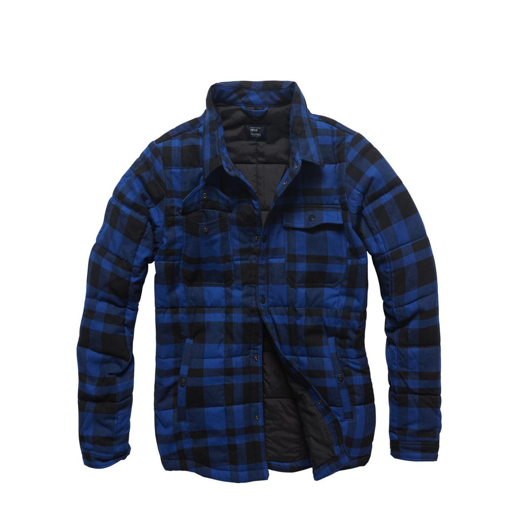 Padded Overshirt - Blue