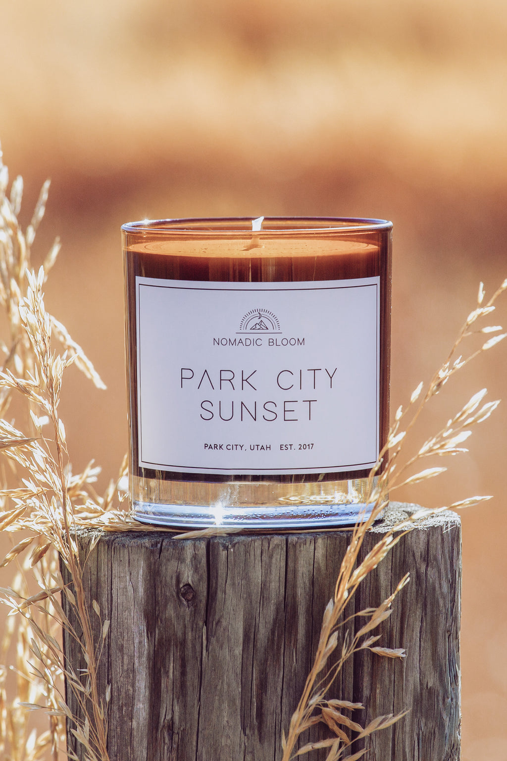 Park City Sunset Candle