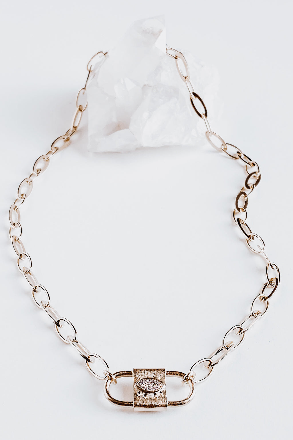 Protective Eye Chain Link Necklace