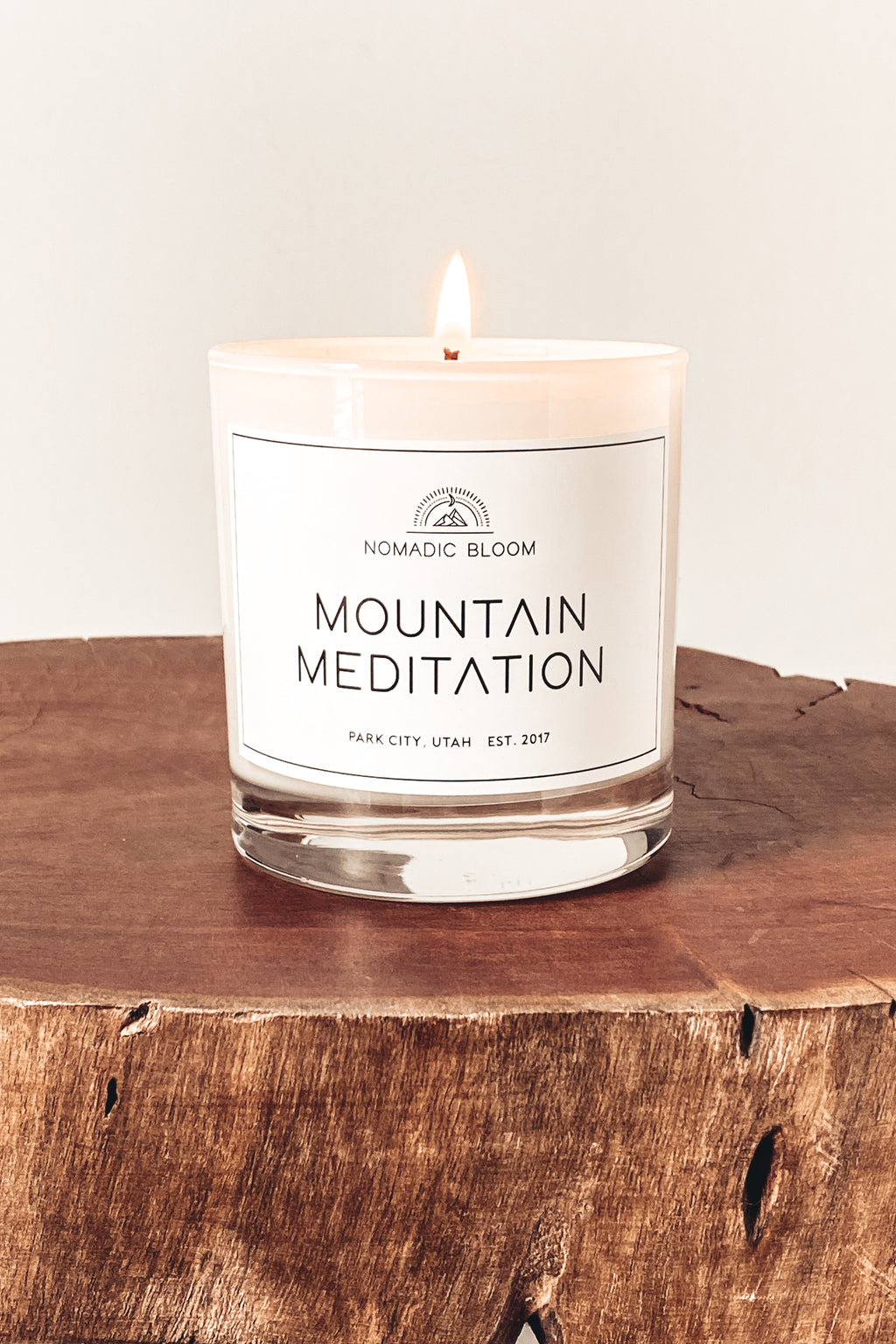 Mountain Meditation Candle