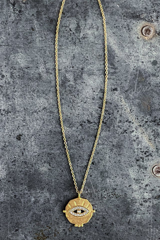 Canyon Diamond Necklace - Gold