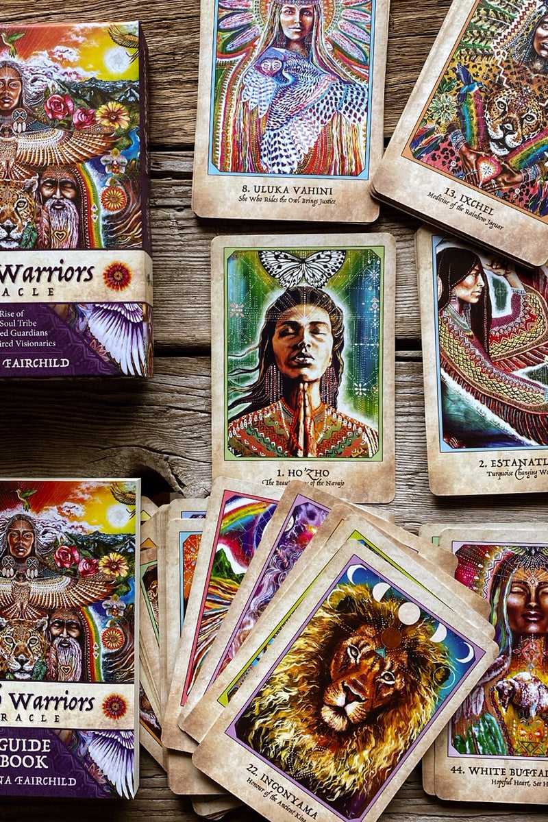 Earth Warrior Card Deck + Guidebook