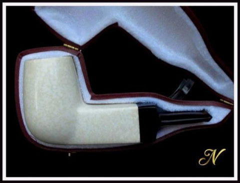 Billiard Turkish Meerschaum Pipe Special Built - Wide Chamber & Draft hole. 0328