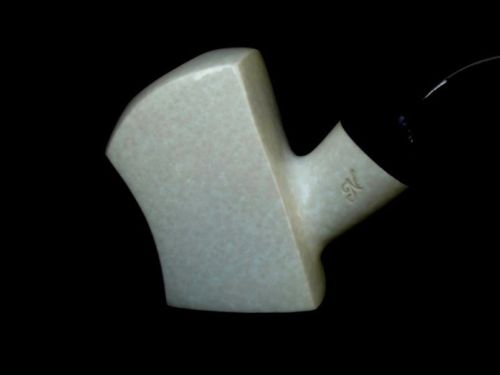 Ax Medieval Poker Sitter Meerschaum Pipe Special Built Marble looks Acrylic 5911