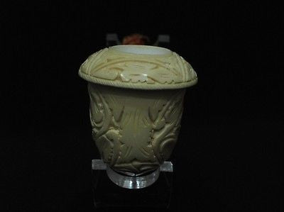 Vineyard Calabash Genuine Block Meerschaum pipe Hand made Fitting Gift Case 1368