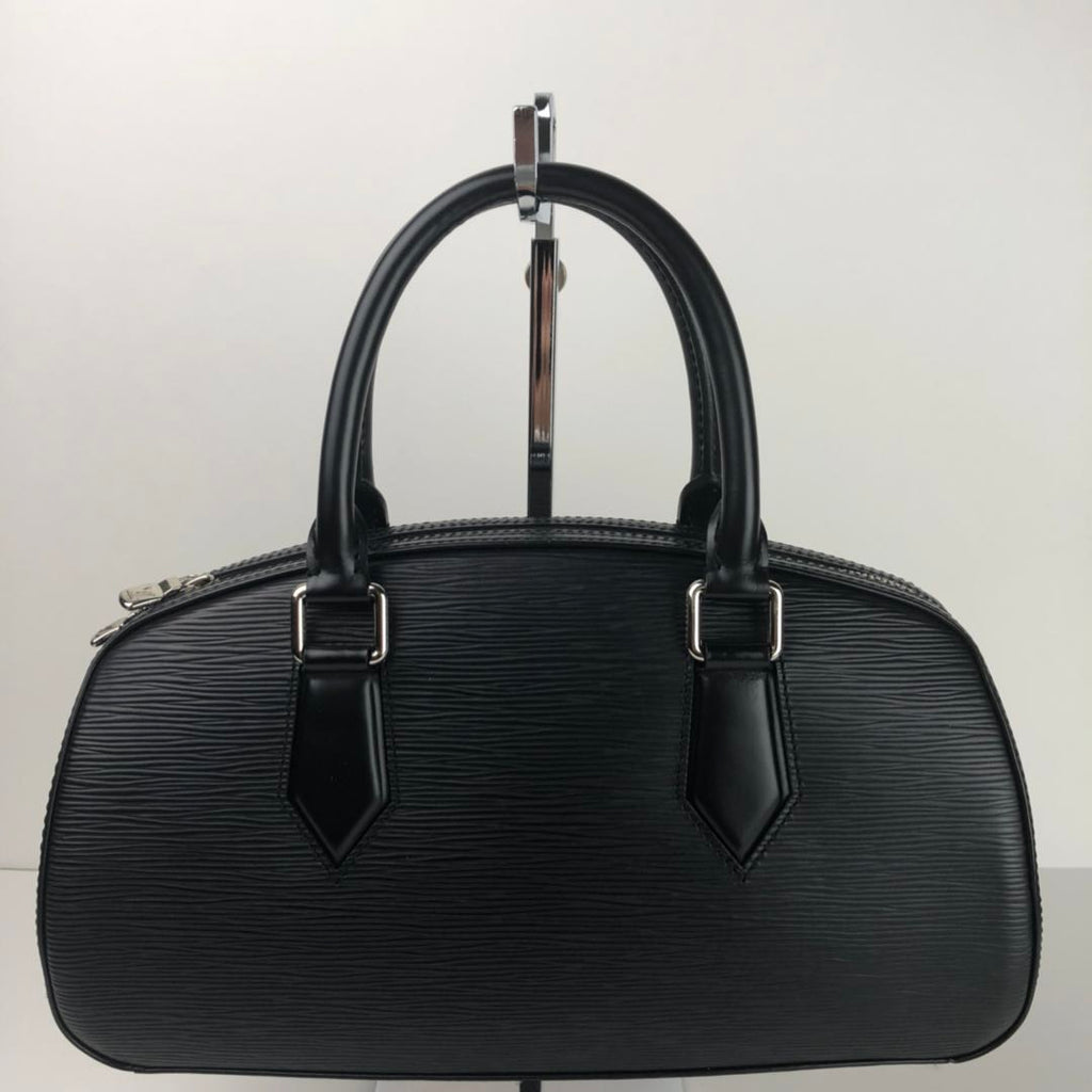 f0227e40983c Women s Louis Vuitton Black Epi Leather Jasmin Handbag Tote Bag Made i –  RE SHOP BOUTIQUE