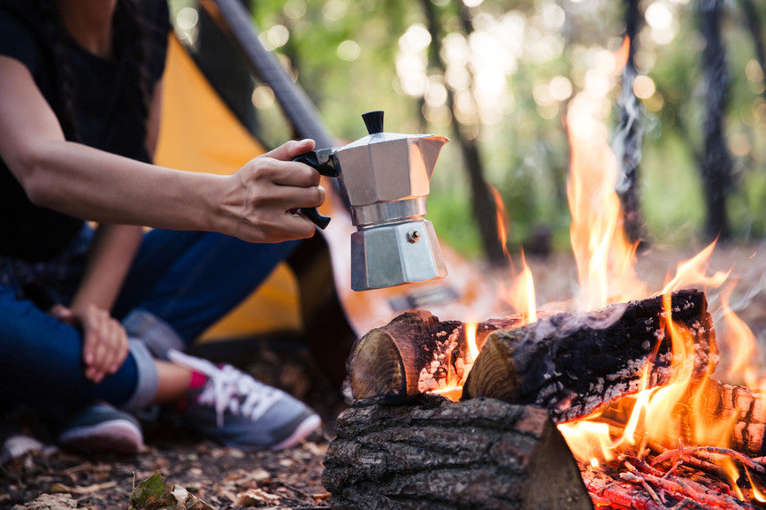 Camping- 5 Ways to Brew Coffee without Electricity and Stay Caffeinated!
