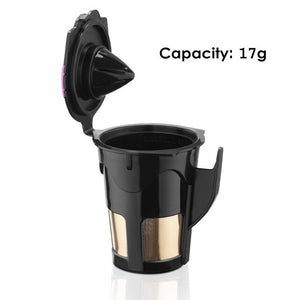 Coffee Filter K-cup Baskets Stainless Steel Mech Compatible For Keurig 2.0 K Cup Reusable Coffee Capsules - 3 Sizes Available