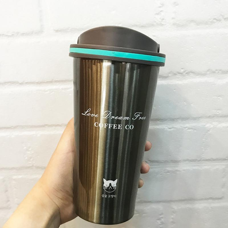 Stainless Steel Leak-proof Insulated Coffee Mug