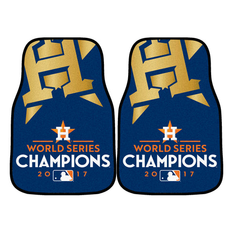 Houston Astros Carpet Car Floor Mats