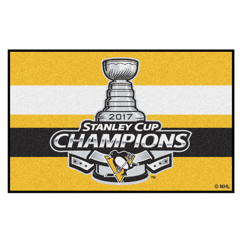 Pittsburgh Penguins Stanley Cup Champions Floor Mat