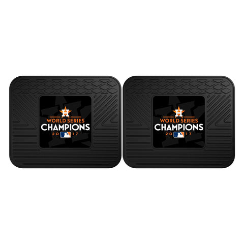 Houston Astros Back Seat Car Floor Mats