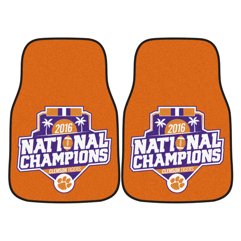 Clemson Tigers Carpet Car Mats