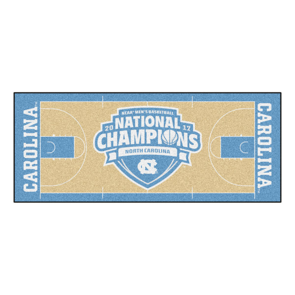 UNC Tar Heels Final Four Champions Floor Runner