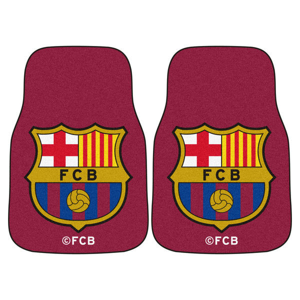 2 FC Barcelona Carpet Car Mats