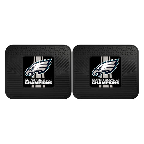 Philadelphia Eagles Super Bowl LII Backseat Car Floor Mats