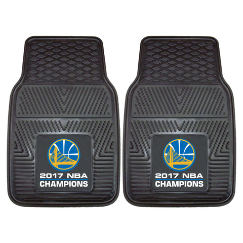 2 Golden State Warriors Car Floor Mats