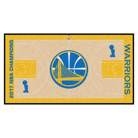 Golden State Warriors Basketball Court Floor Runner