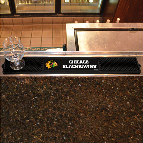 Chicago Blackhawks Bar Drink Mat - TM Niches - 1