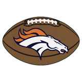Denver Broncos Football Mat Floor Rug - TM Niches - 2