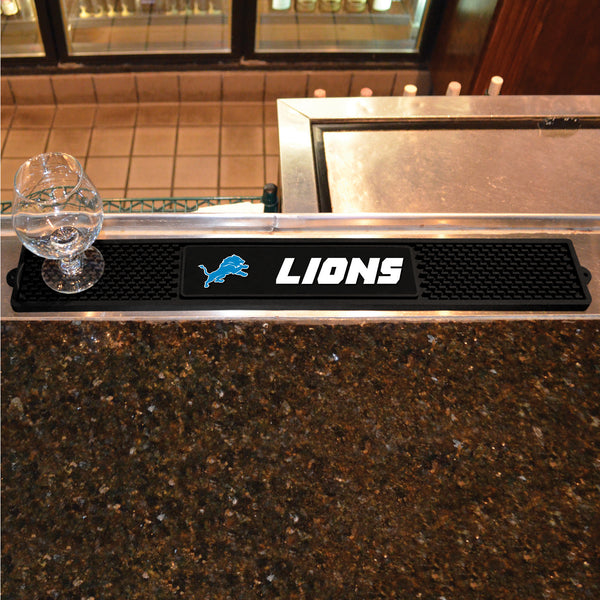 Detroit Lions Bar Drink Mat - TM Niches - 1
