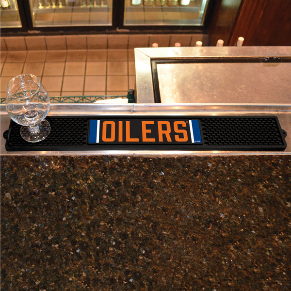 Edmonton Oilers Bar Drink Mat - TM Niches - 1