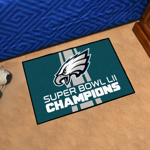 Philadelphia Eagles Super Bowl LII Floor Mat