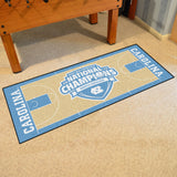 UNC Tar Heels Final Four Champions Basketball Court Floor Runner