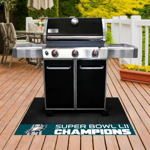 Philadelphia Eagles Super Bowl LII BBQ Grill Mat