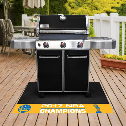Golden State Warriors BBQ Mat