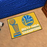 Golden State Warriors Floor Rug