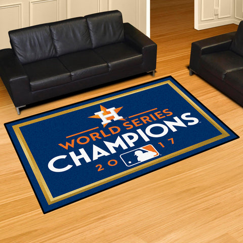 Houston Astros World Series Area Rug
