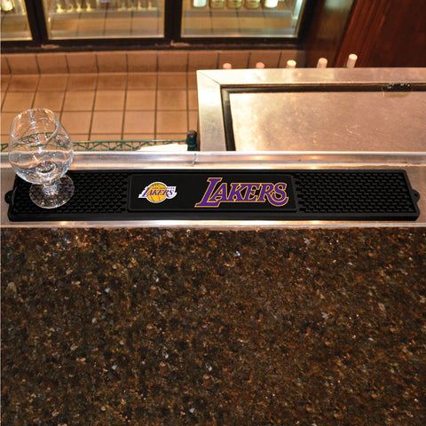 Los Angeles Lakers Bar Drink Mat - TM Niches - 1
