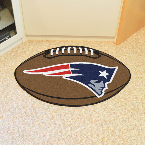 New England Patriots Football Mat Floor Rug - TM Niches - 1