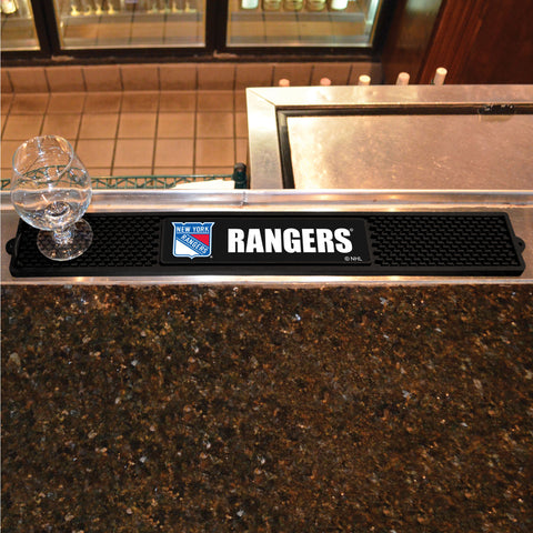 New York Rangers Bar Drink Mat - TM Niches - 1