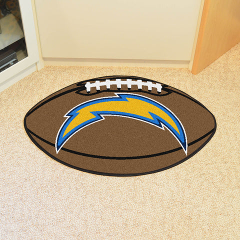 San Diego Chargers Football Mat Floor Rug - TM Niches - 1