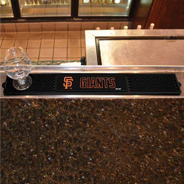 San Francisco Giants Bar Drink Mat - TM Niches - 1