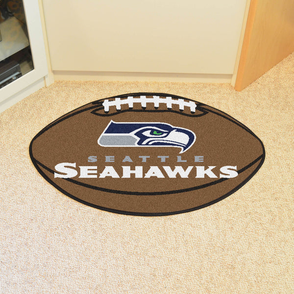 Seattle Seahawks Football Mat Floor Rug - TM Niches - 1