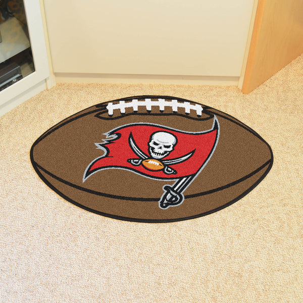 Tampa Bay Buccaneers Football Mat Floor Rug - TM Niches - 1