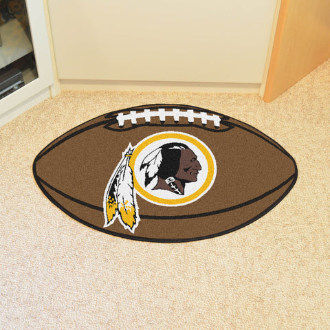 Washington Redskins Football Mat Floor Rug - TM Niches - 1