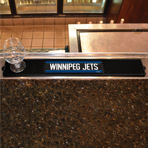 Winnipeg Jets Bar Drink Mat - TM Niches - 1