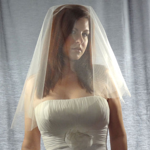 Champagne Drop Veil example