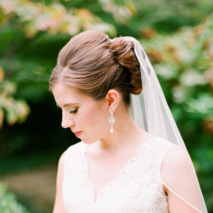 veil-wedding-hairstyles-sophisticated-updo