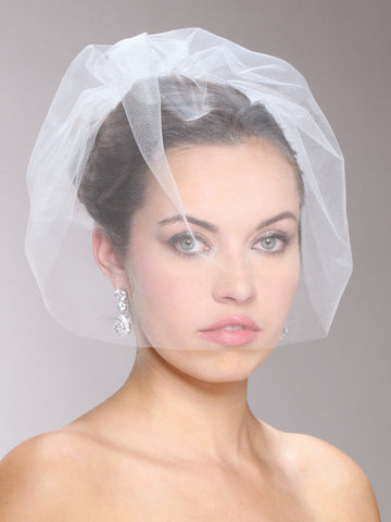 Tulle Birdcage Veil - Distinctive Veils & Accessories