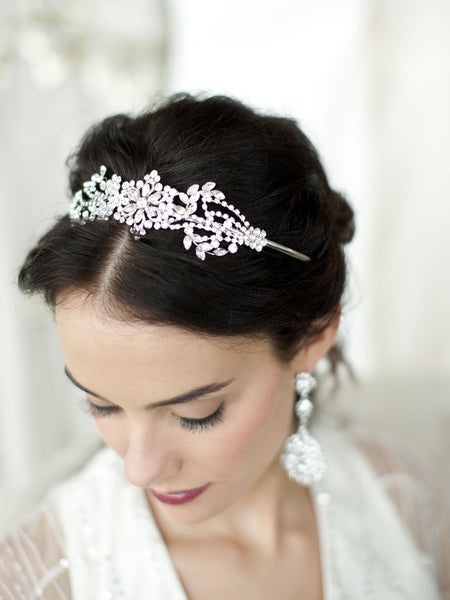 Deco Wedding Tiara - Distinctive Veils & Accessories