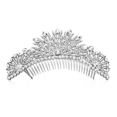 Art Deco Wedding Comb - Distinctive Veils & Accessories