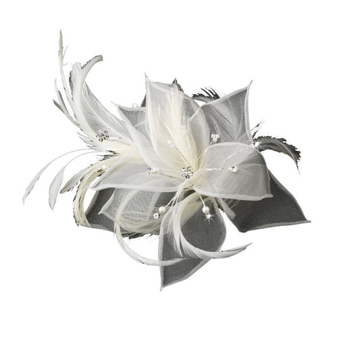 Contemporary Wedding Hair Flower - Distinctive Veils & Accessories