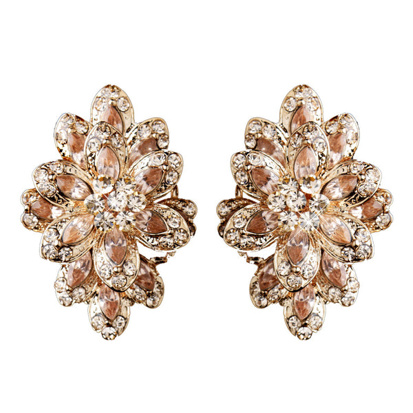 Rhinestone Marquis Earrings