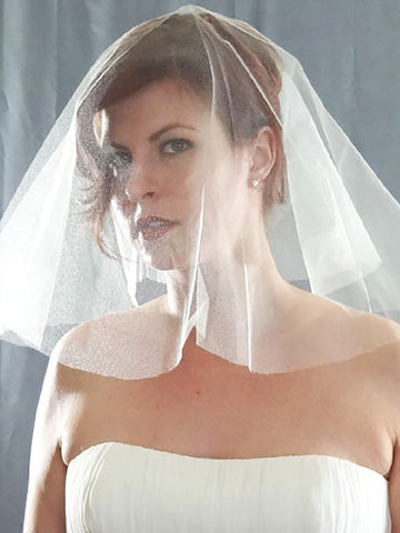 Silk Tulle Veil - English - Distinctive Veils & Accessories