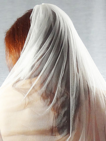 Silk Tulle Veil - French - Distinctive Veils & Accessories